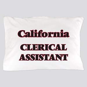 California Clerical Assistant Pillow Case