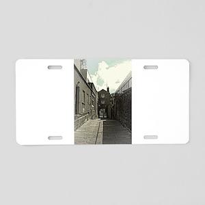 Castle Steps - Dublin Aluminum License Plate
