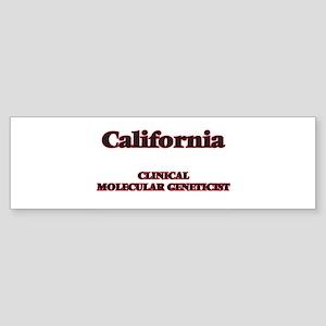 California Clinical Molecular Genet Bumper Sticker
