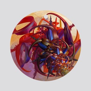 Sci-fi insect Round Ornament