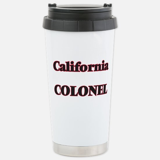California Colonel Stainless Steel Travel Mug