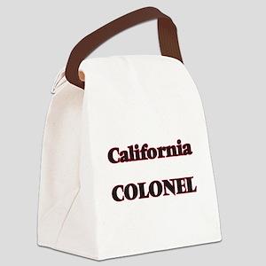 California Colonel Canvas Lunch Bag