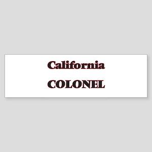California Colonel Bumper Sticker