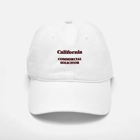 California Commercial Solicitor Baseball Baseball Cap