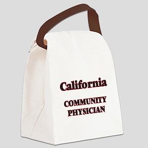 California Community Physician Canvas Lunch Bag