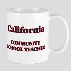 California Community School Teacher Mugs