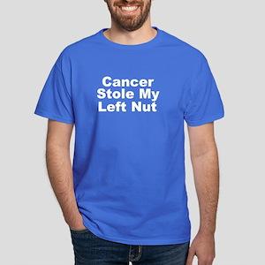 Stole My Left Nut Dark T-Shirt