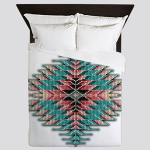 Southwest Native Style Sunburst Queen Duvet