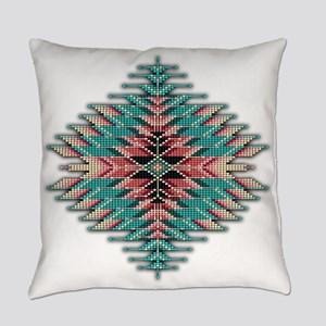 Southwest Native Style Sunburst Everyday Pillow