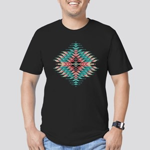 Southwest Native Style Men's Fitted T-Shirt (dark)