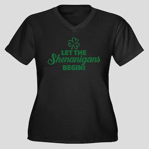 Let the shenanigans begin Plus Size T-Shirt