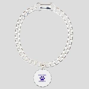 Sussex Spaniel Daddy Des Charm Bracelet, One Charm