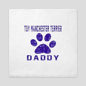 Toy Manchester Terrier Daddy Designs Queen Duvet