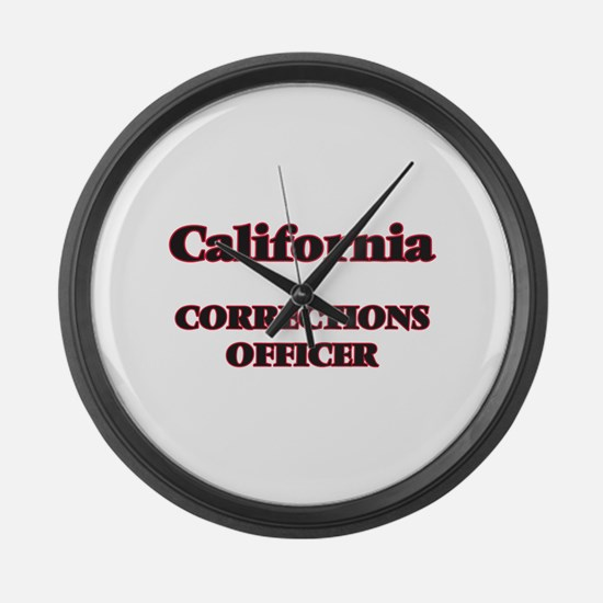 California Corrections Officer Large Wall Clock