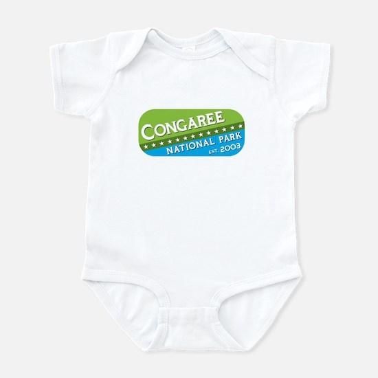 Congaree National Park (green Infant Bodysuit