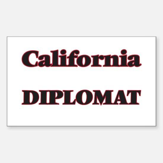 California Diplomat Decal