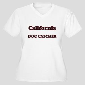 California Dog Catcher Plus Size T-Shirt