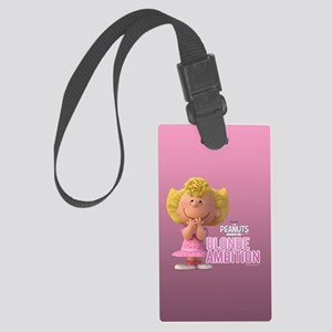 Sally - Blonde Ambition Large Luggage Tag