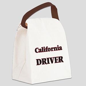 California Driver Canvas Lunch Bag