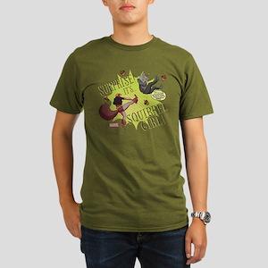 Squirrel Girl Fightin Organic Men's T-Shirt (dark)