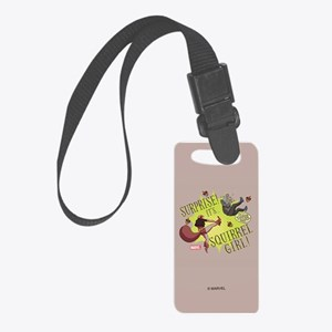 Squirrel Girl Fighting Crime Small Luggage Tag