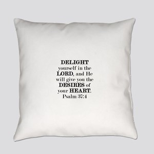 Psalm 37:4 Everyday Pillow