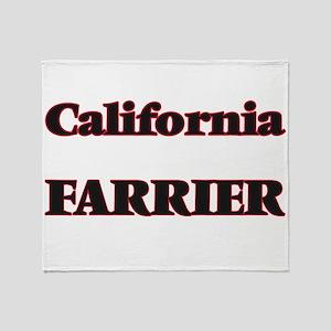California Farrier Throw Blanket