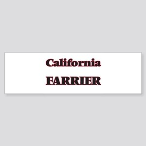 California Farrier Bumper Sticker