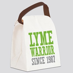 Lyme Warrior Since 1987 Canvas Lunch Bag