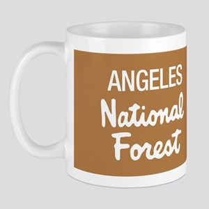 Angeles (Sign) National Forest Mug