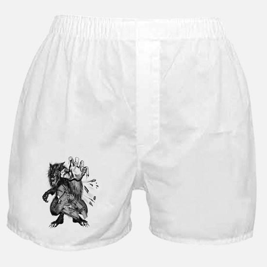 The War Wolf Boxer Shorts
