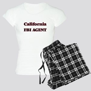 California Fbi Agent Women's Light Pajamas