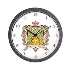 Know It All Garfield Wall Clock
