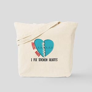 Cardiac Nurse Art Tote Bag