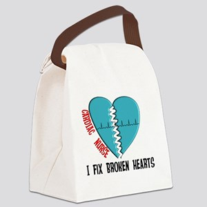 Cardiac Nurse Art Canvas Lunch Bag