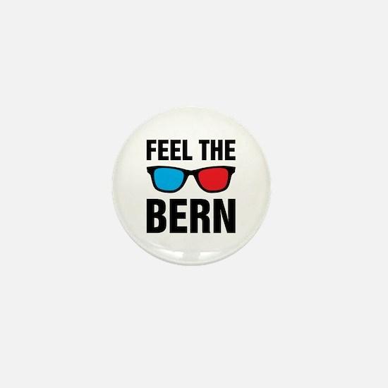 Feel the Bern [glasses] Mini Button