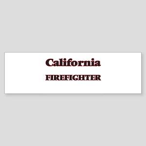 California Firefighter Bumper Sticker