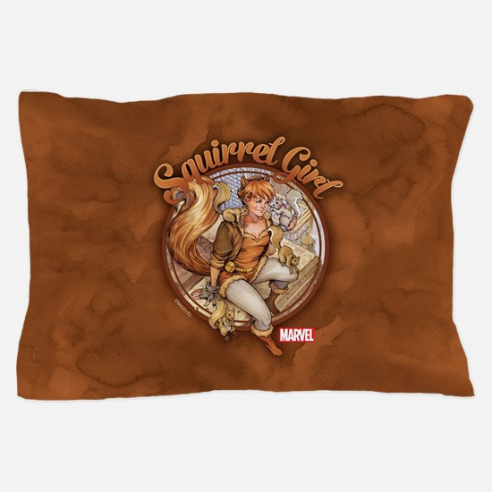 Squirrel Girl Rooftop Pillow Case