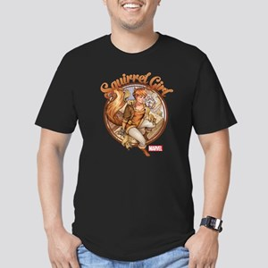 Squirrel Girl Rooftop Men's Fitted T-Shirt (dark)