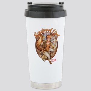 Squirrel Girl Rooftop Stainless Steel Travel Mug