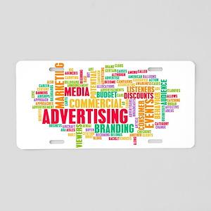 Advertising Online Aluminum License Plate