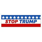 Stop Trump Bumper Sticker