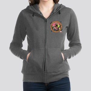 Squirrel Girl Action Women's Zip Hoodie