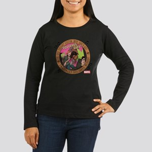 Squirrel Girl Act Women's Long Sleeve Dark T-Shirt
