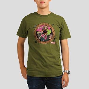 Squirrel Girl Action Organic Men's T-Shirt (dark)