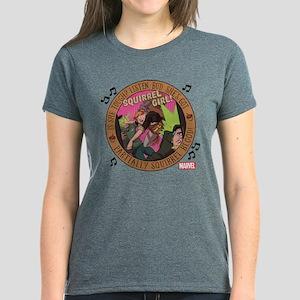 Squirrel Girl Action Women's Dark T-Shirt