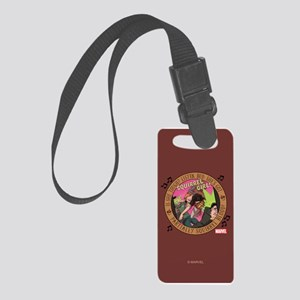 Squirrel Girl Action Small Luggage Tag