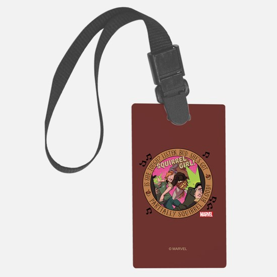 Squirrel Girl Action Luggage Tag