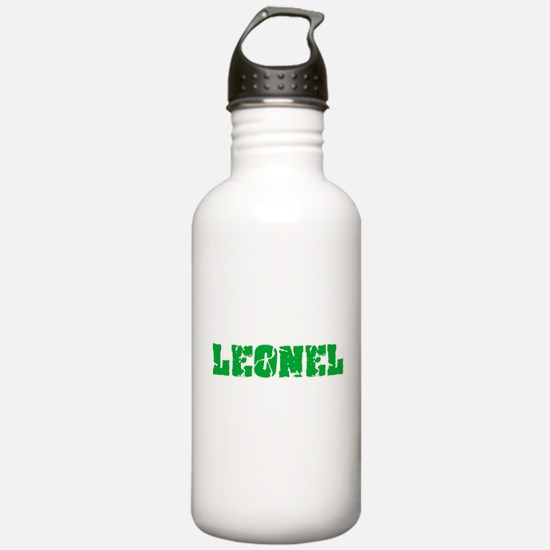 Leonel Name Weathered Water Bottle