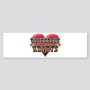 Dangerous Hearts Sticker (Bumper)